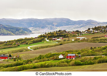 Agricultural area Byneset, Trondheim