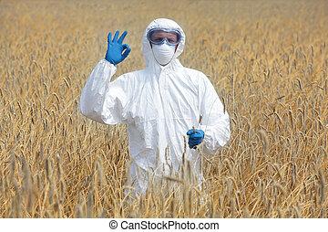 agricultural engineer - ok gesture