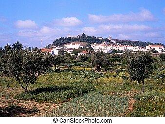 Agricultural land & town, Portel.