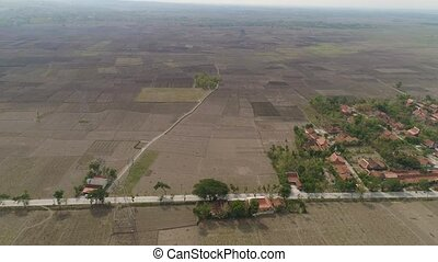 Agricultural landscape in indonesia. - agricultural land in...