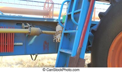 agricultural machinery and equipment. men's feet refers to...