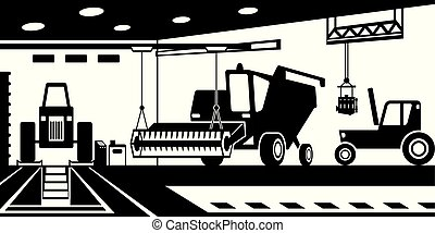 Agricultural machinery service and maintenance