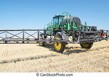agricultural sprayer - The image of an agricultural sprayer