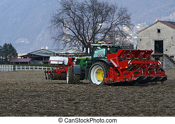 Agricultural tractor