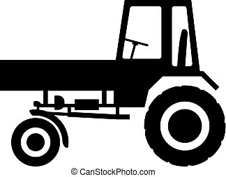 Agricultural tractor with bodywork