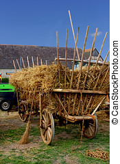 Agricultural wagon