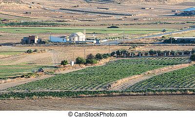 Agriculture farmland Cyprus