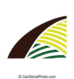 Agriculture Field Icon
