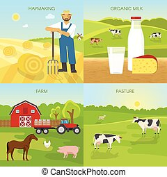 Agriculture Flat Compositions