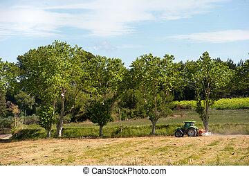 agriculture, francais, paysage