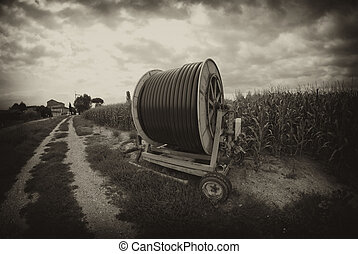 agriculture, machinerie, italie