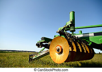 Agriculture machinery - A heavy industrial agriculture...