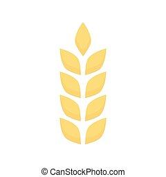 agriculture, oreilles, blé