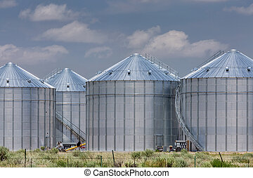 agriculture, stockage, silos