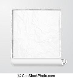 agrietado, bandera