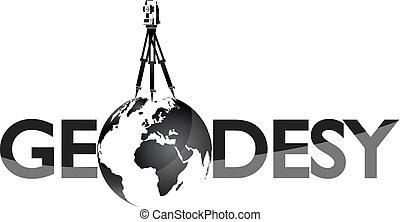agrimensor, símbolo, geodesy