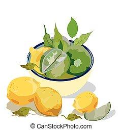 agrume, frutte fresche