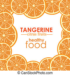 agrumes, mandarine
