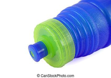 agua azul, botella