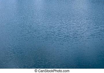 agua azul, onda, plano de fondo, textura