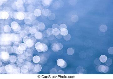 agua azul, plano de fondo