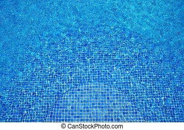 agua azul, turquesa, fondo.