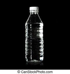 agua, botella
