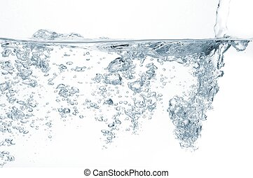 agua, burbujas