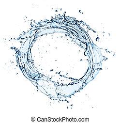 agua, círculo