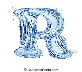 agua, carta