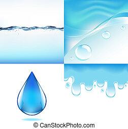 agua, conjunto
