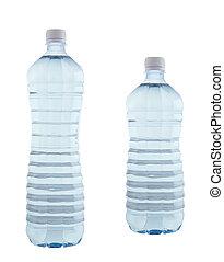 agua, en, botellas