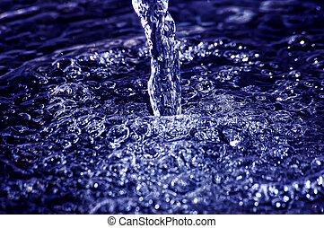 agua, fluir