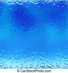 agua, gotitas, plano de fondo, gotas de lluvia
