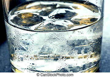 agua, hielo
