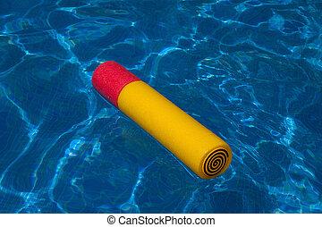 agua, juguete, -, 1, piscina, natación