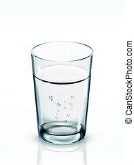 agua limpia, ilustración