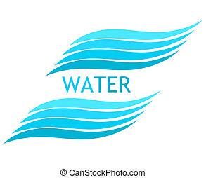 agua, ondas
