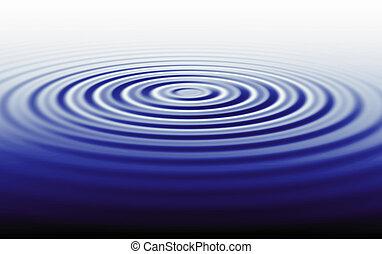 agua, ondulado, ilustración, plano de fondo, ondas