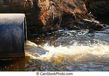 agua, peligro