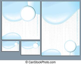 agua, plantillas de diseño