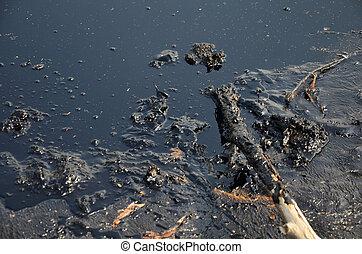 agua, químicos, contaminado