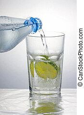 agua, sano