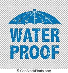 agua, texto, prooff