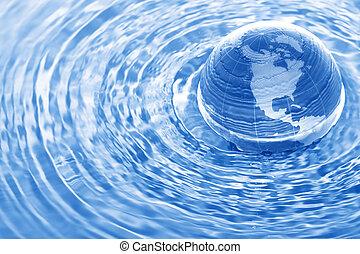 agua, tierra