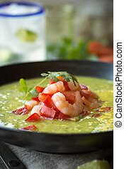 aguacate, bisque