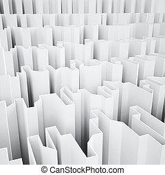 agudo, blanco, abstracción, plano de fondo, angular