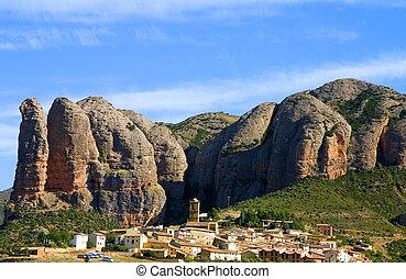 Aguero, Huesca, Spain