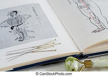 agujas de la acupuntura