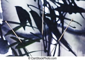 agulha acupuntura